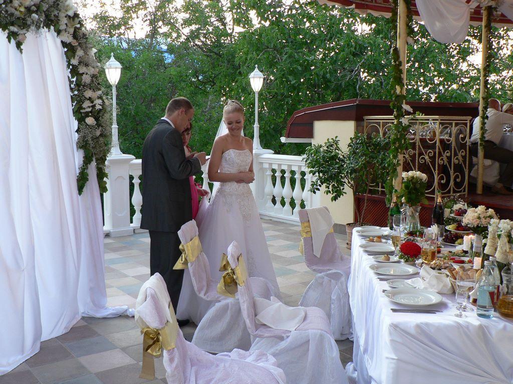 Свадьба в ресторане «Украина»